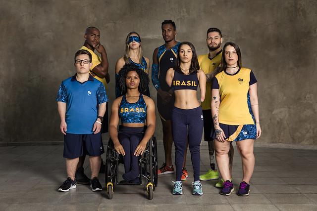 atletas brasileiros jogos parapan-americanos Lima 2019