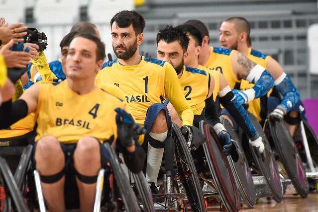 seleção brasileira rugby sobre rodas