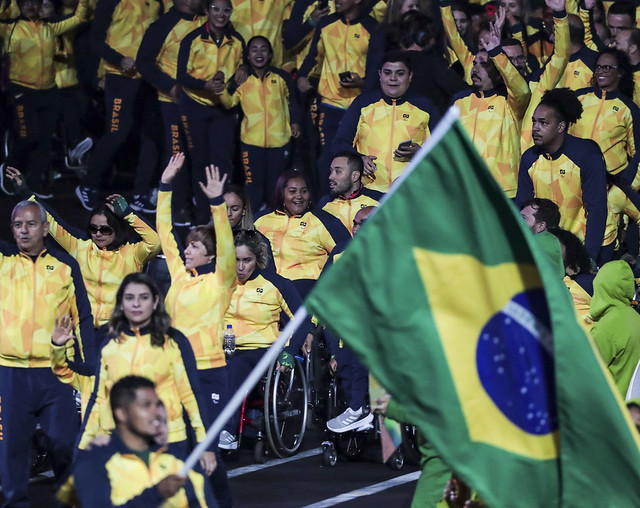 Brasil é destaque na abertura dos Jogos Parapan-Americanos de Lima 4