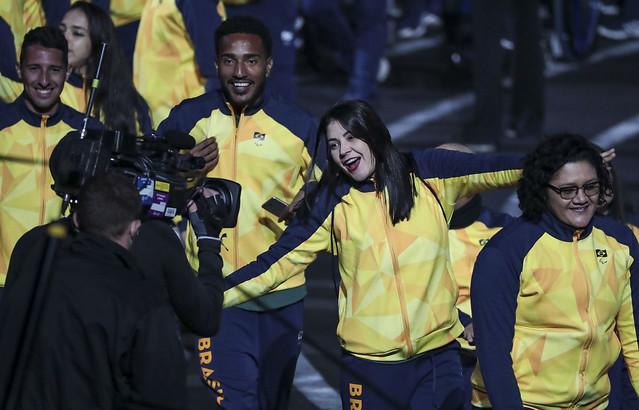 Brasil é destaque na abertura dos Jogos Parapan-Americanos de Lima 6