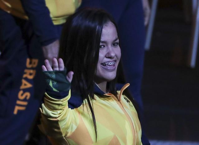 Brasil é destaque na abertura dos Jogos Parapan-Americanos de Lima 7
