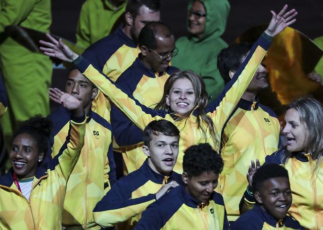 Brasil é destaque na abertura dos Jogos Parapan-Americanos de Lima 8