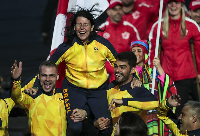 Brasil é destaque na abertura dos Jogos Parapan-Americanos de Lima 9