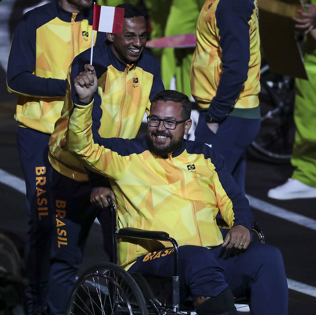 Brasil é destaque na abertura dos Jogos Parapan-Americanos de Lima 11
