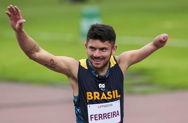 petrúcio ferreira atletismo parapan lima 2019