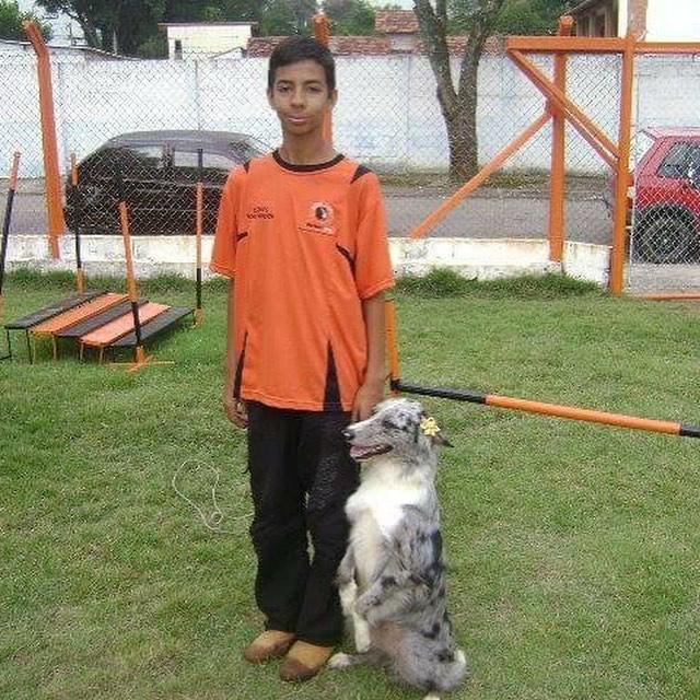 desde 13 anos jovem resgata animais vítimas maus-tratos