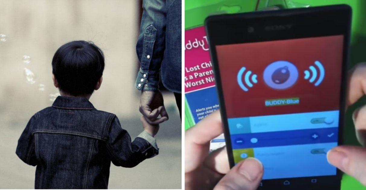 Após perder filha em parque, pai inventa pulseira 'radar' inteligente