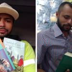 coletor lixo biblioteca livros recolhidos trabalho