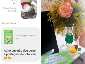 chat stories instagram marca