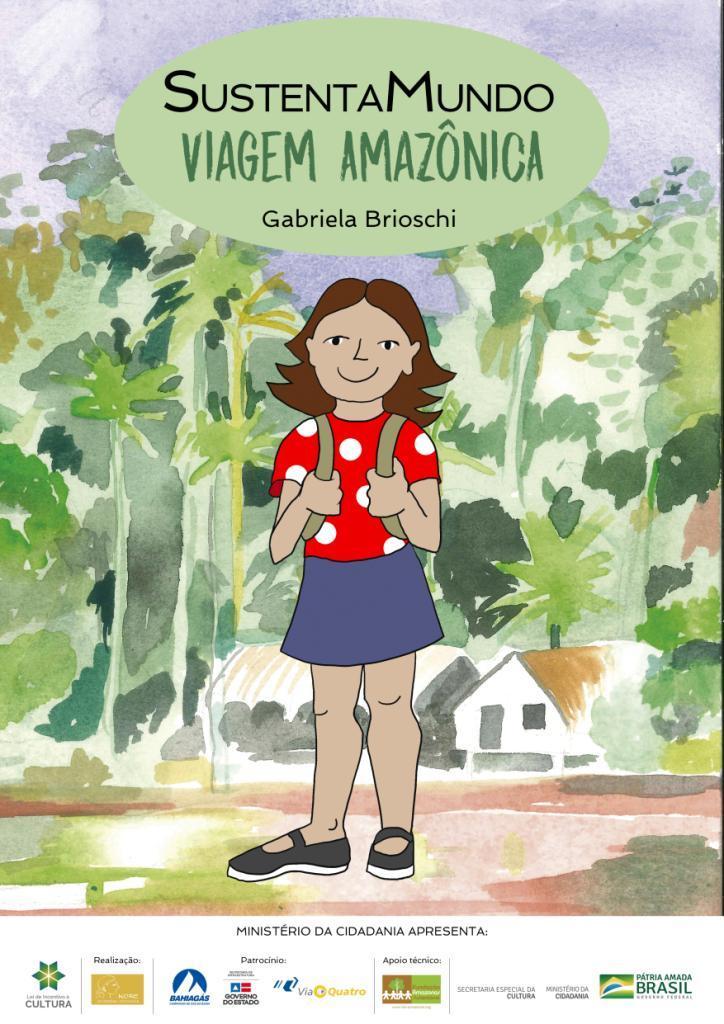 Livro 'Viagem Amazônica' é lançado em São Paulo com distribuição gratuita para crianças