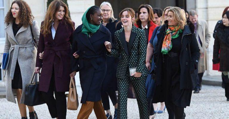 Emma Watson linha de apoio vítimas assédio sexual Reino Unido