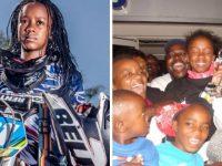 multicampeã motocross paga escola crianças carentes
