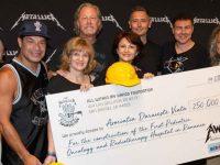 metallica doa um milhão para construção de hospital infantil na romênia