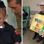 Desenganado pelos médicos, menino com leucemia chora ao receber alta 3