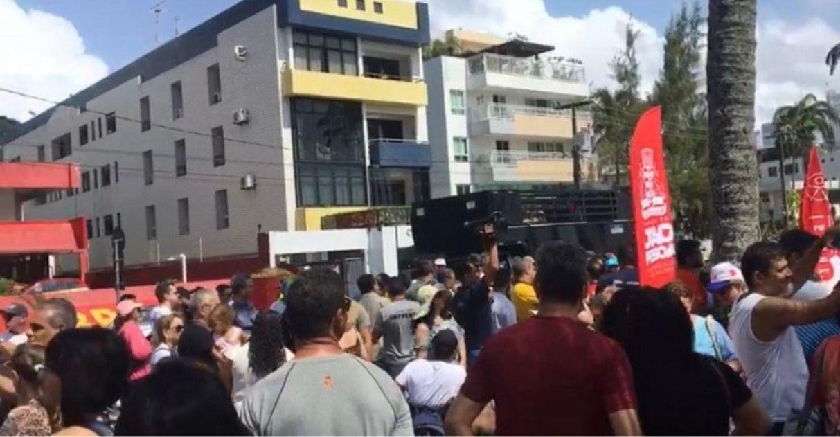 manifestação pessoas rua