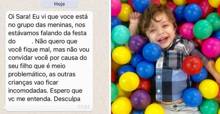Mães festa menino autista rejeitado aniversário