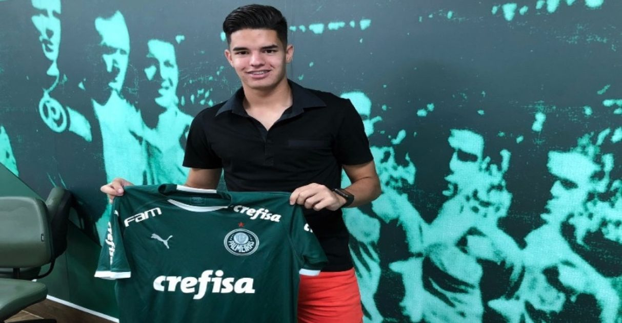 Atacante paraguaio deficiência auditiva contratado Palmeiras
