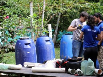 Projeto estudantes UFPA reaproveitou mais milhão litros água chuva cisterna sustentável