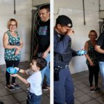 menino autista ganha festa com cachorro da guarda municipal de jundiaí
