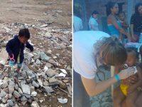 familias vivem lixao rj alimentam produtos descartados africa leblon