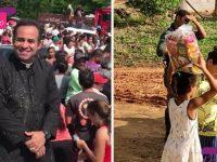 padre cria campanha contra fome