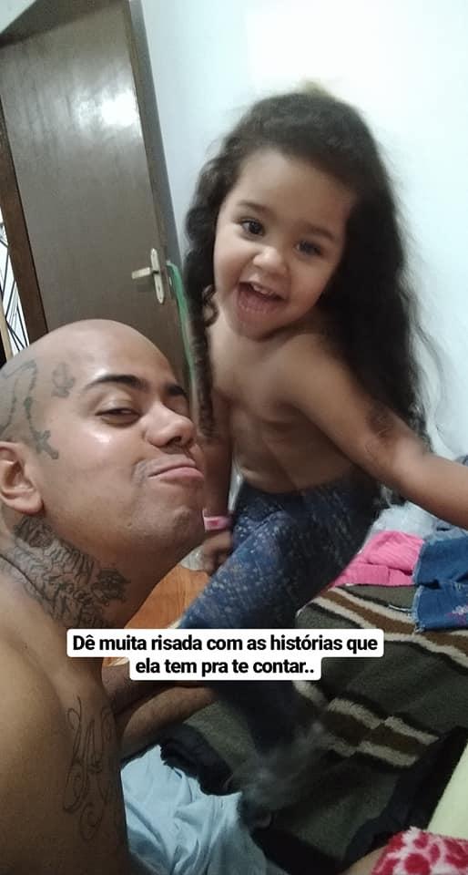 selfie pai e filha