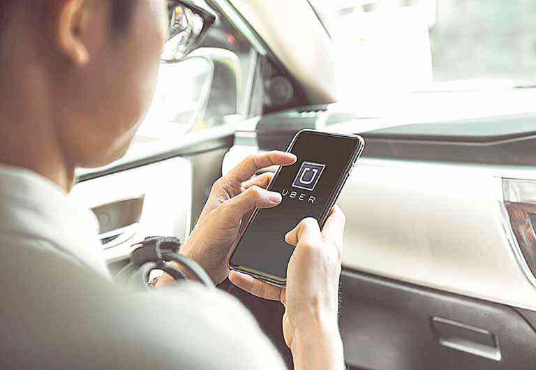 Aplicativo usar dinheiro Vale Transporte em Uber economia empresas