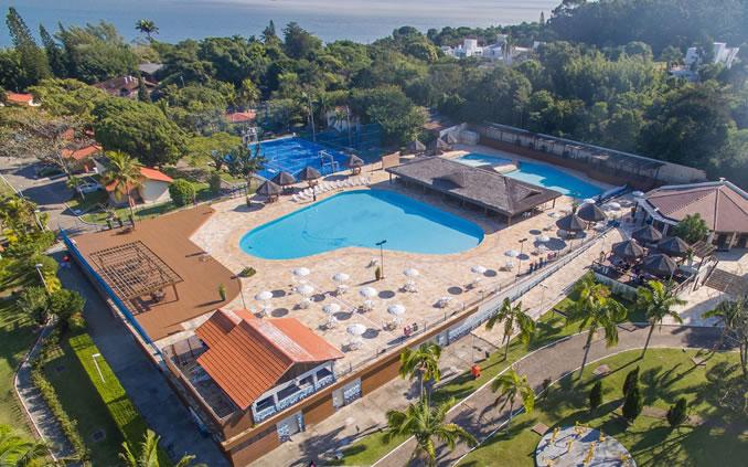 Foto aérea do SESC Cacupé