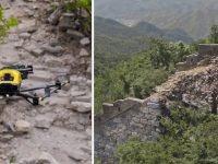 drone intel grande muralha da china