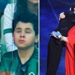 Mãe que narra jogos do Palmeiras para filho cego ganha prêmio da FIFA 3
