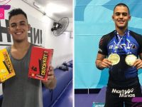 Atleta de jiu-jitsu que vende biscoitos para competir traz mais um ouro para o Brasil! 1