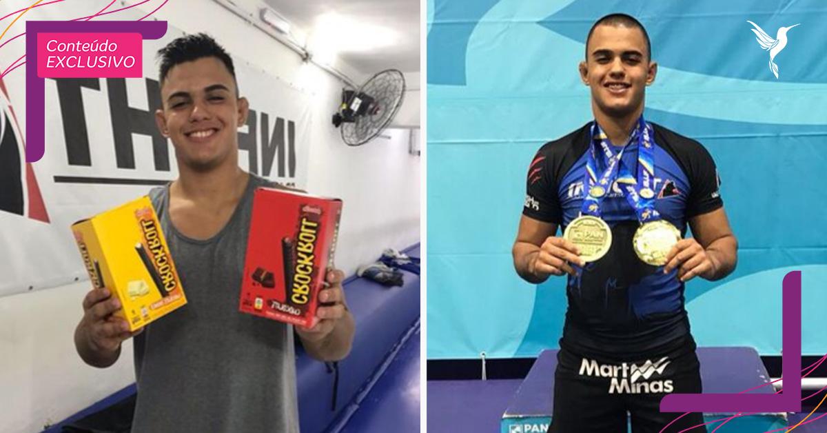 Atleta de jiu-jitsu que vende biscoitos para competir traz mais um ouro para o Brasil! 3