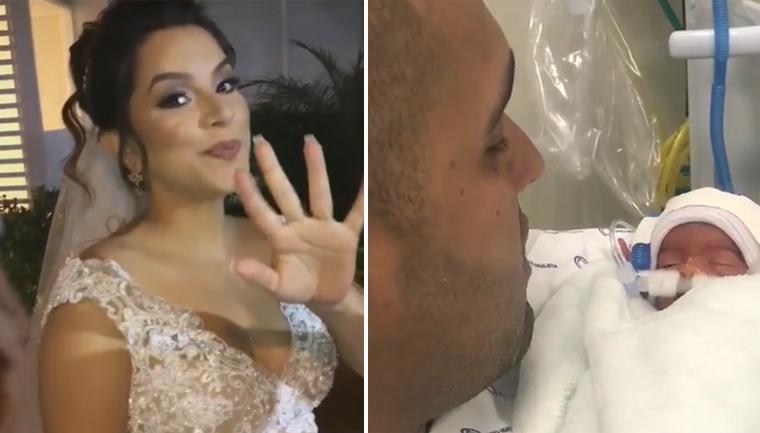 Site de roupa infantil doará enxoval completo para bebê de noiva que morreu no casamento 3
