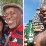 selfie lua de mel casal paris
