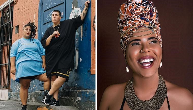 Rap Plus Size e Doralyce levam agito e empoderamento ao festival 'Artistas de Rua' em SP 1
