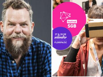 Autor de best sellers, Marcos Piangers é presença confirmada no Festival SGB 1