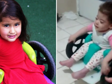 Instituição fabrica cadeira de rodas especial para crianças com doença rara consigam brincar!