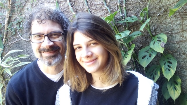 Livro escrito por pai e filha lançamento Rio São Paulo