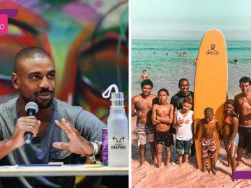 garotos prancha surfe praia