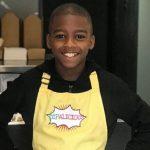 Omari chef dono restaurante comida vegana mais jovem mundo