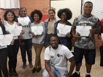 ex-detento alunos certificado curso empreendedorismo