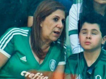 mãe narrando jogo futebol filho cego