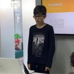 estudante apresenta jogo combater cyberbullying