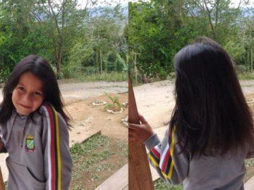 enzo mostra cabelos crescidos para ajudar crianças com câncer