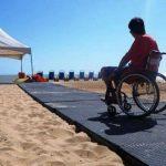 Governo Rio de Janeiro esteiras para cadeirantes nas praias