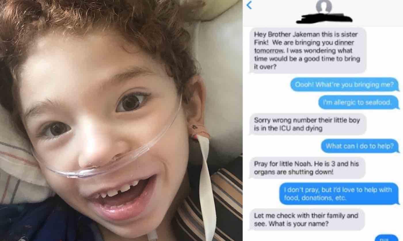 Amiga família necessidade manda mensagem para número errado estranho provê ajuda