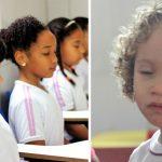 alunos escola meditação
