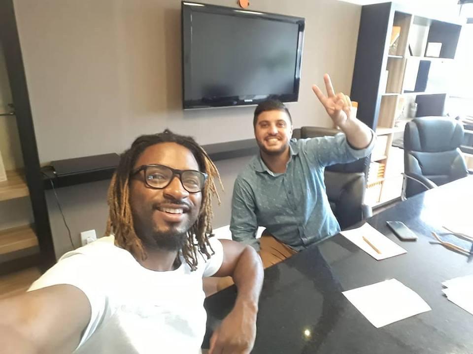selfie ex-detento empreendedor