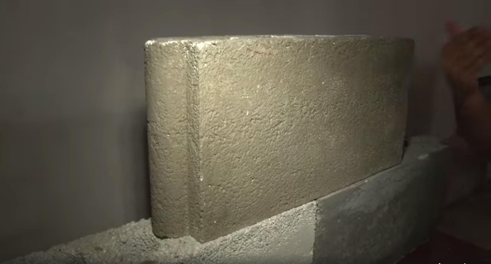tijolo feito isopor