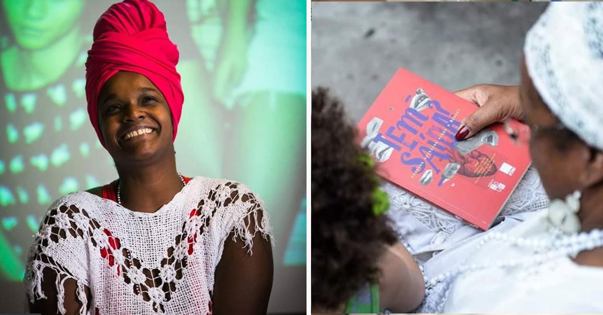 """Ela criou o """"Tinder dos Livros"""" para facilitar o acesso à leitura a pessoas negras 4"""